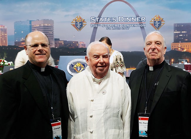 Fr. Hammond Receives Highest Honor