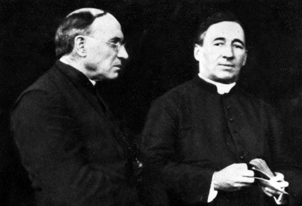 Father Price and Father Walsh
