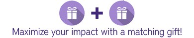 Double Your Impact with Employer Gift Matching