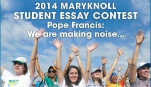 Maryknoll Essay Contest 2014