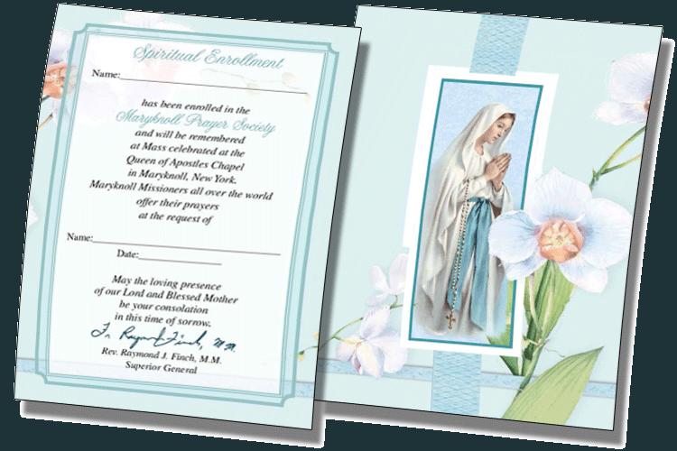 Spiritual Enrollment Cards 2018
