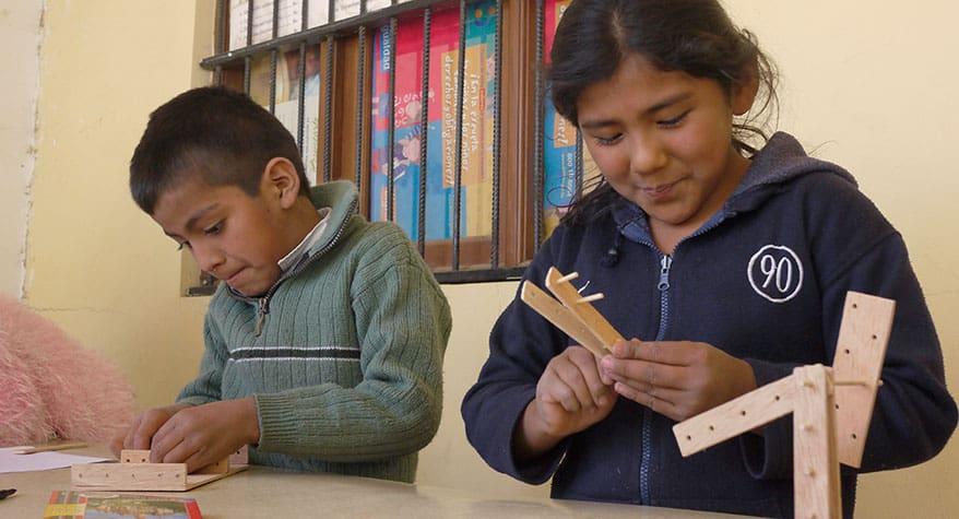 Children at Amanecer (Bolivia)