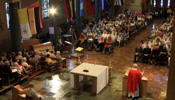 Foundation Day Mass 2011