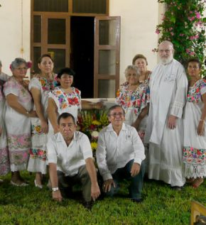 Father John P. Martin, M.M. with Affiliates (Mexico)