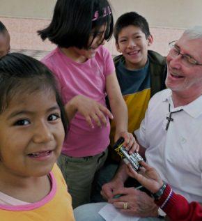 Padre Joseph Fedora, M.M. en Lima, Perú