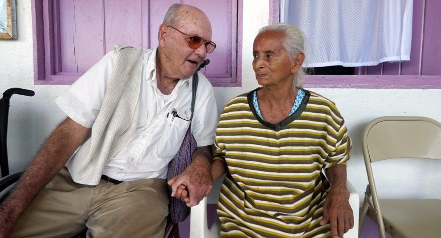 Br. Martin Shea, M.M. in mission (Guatemala)