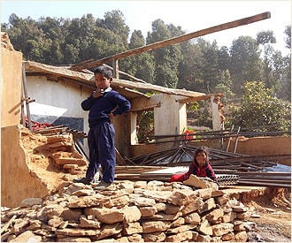 Support Maryknoll's ongoing quake relief efforts in Nepal