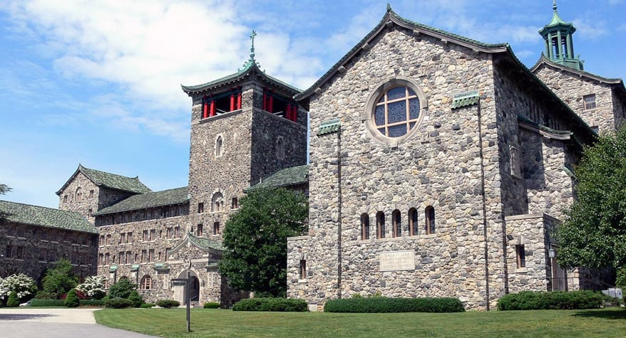 The Maryknoll Society Center in Ossining, New York