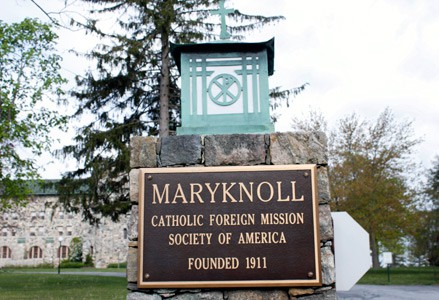 Maryknoll Mission Center - Plaque