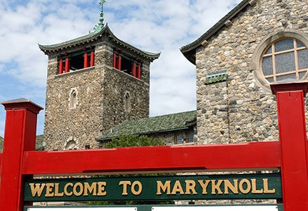 Maryknoll Mission Center Welcome Sign