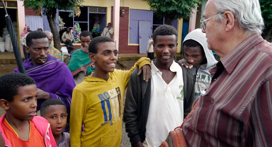 Padre Richard Baker, M.M. en Etiopia
