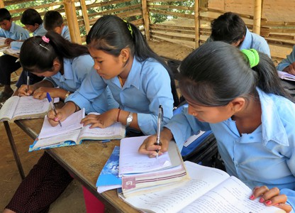 Children back in school (Nepal)