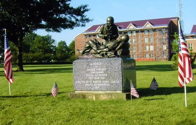 Fr. Vincent Capodanno memorial, Staten Island New York