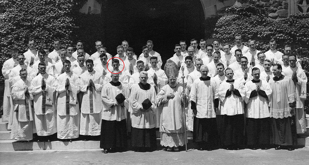 Fr. Vincent Capodanno ordination in 1958
