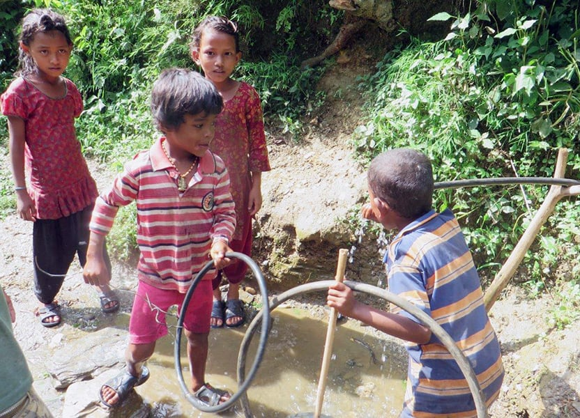 pht-waterday-village-children-nepal