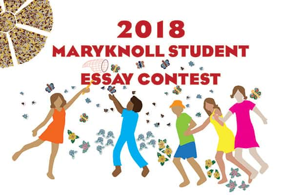Maryknoll Essay Contest For Students  High School Persuasive Essay also Business Plan Writer San Antonio  Example Of Proposal Essay