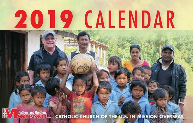 Get the 2019 Maryknoll Calendar
