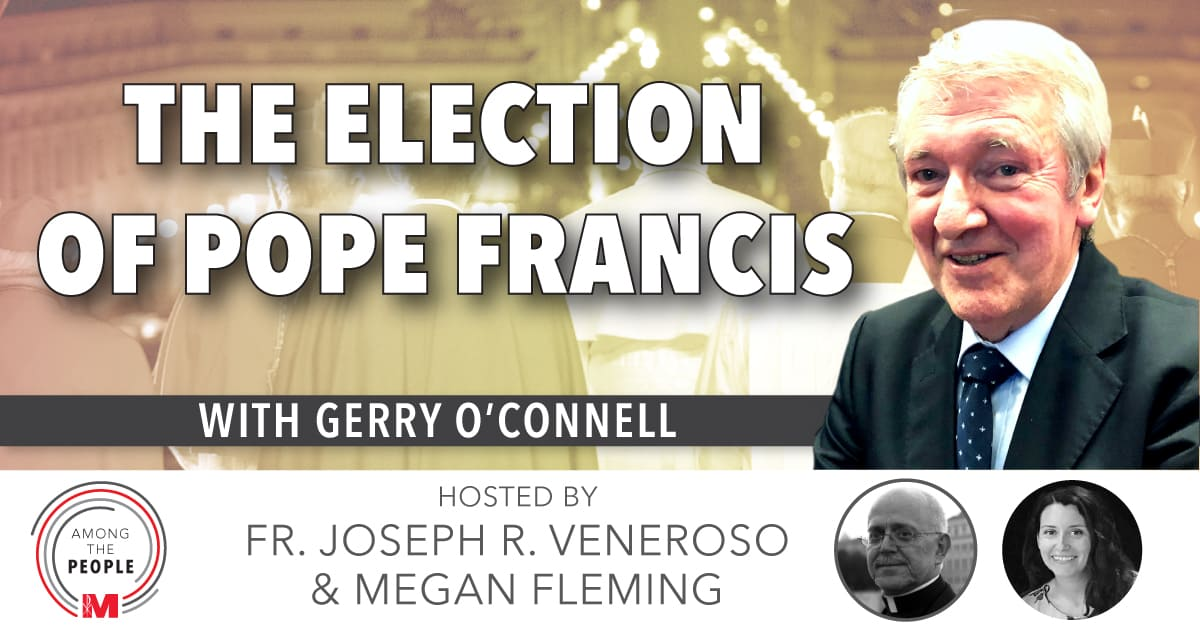 Gerard O'Connell, author of The Election of Pope Francis