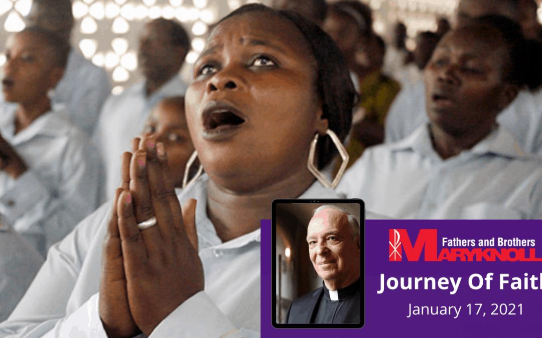 Journey of Faith, John 1:39, January 17, 2021