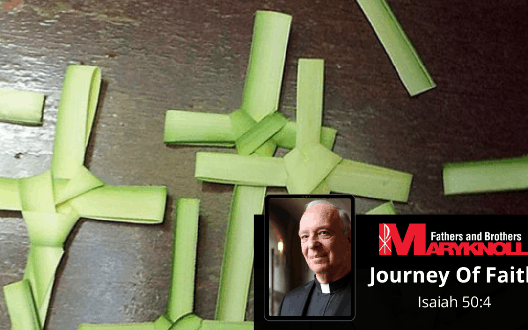 Palm Sunday of the Lord's Passion, Journey of Faith
